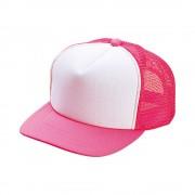 ホワイト×蛍光ピンク