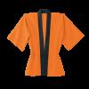 トロピカルハッピ(釦付き)